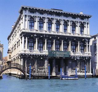 Baldassarre Longhena (1598-1682). Ca' Rezzonico, facciata sul Canal Grande.