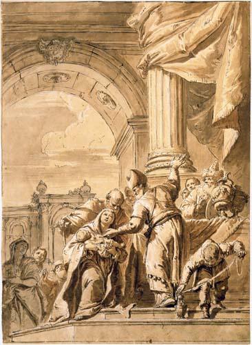 Ca' Rezzonico                                                            Ca' Rezzonico                                                                    FRANCESCO FONTEBASSO (1707-1769). L'album dei disegni.