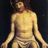 Giambattista Cima da Conegliano (1459/60-1517/18). Cristo passo. Olio su tavola. Ca' Rezzonico.