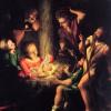 Lelio Orsi (1508?-1587). Adorazione dei pastori. Olio su tavola. Ca' Rezzonico.