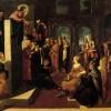 Jacopo Robusti detto il Tintoretto (1518-1594). Predica di Cristo (1545-1547 ca.). Olio su tela. Ca' Rezzonico.