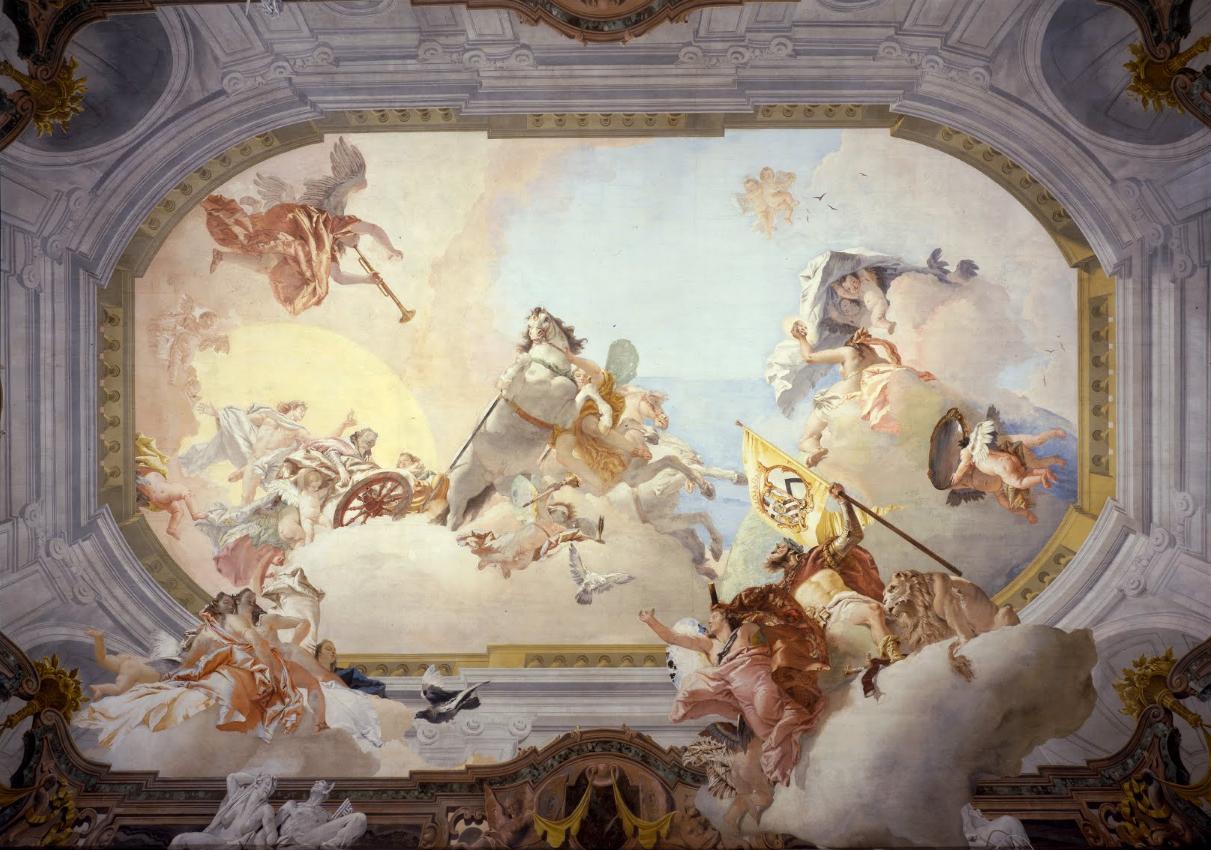 Nuptial Allegory Room Ca Rezzonico