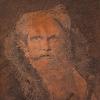 Giandomenico Tiepolo (1727 - 1804) Vecchio con spada (Succi n. 98)* Lastra in rame  incisa