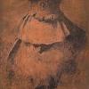 Giandomenico Tiepolo (1727 - 1804) Vecchio con turbante (Succi n. 104)* Lastra in rame  incisa