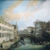 Antonio Canal detto il Canaletto (1697 - 1768) Il rio dei Mendicanti (1724 - 1726)