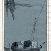 LUCA CARLEVARIJS (1663 – 1730),Imbarcazione fluviale per il trasporto del legname; galera