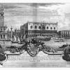Michele Marieschi, Veduta di Venezia con dedica