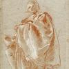 Giambattista Tiepolo (1696 - 1770), Figura maschile volta a sinistra, 1753 c.