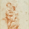 Giambattista o Giandomenico Tiepolo, La Vergine col Bambino, 1750-52