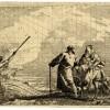 Giandomenico Tiepolo, La Sacra Famiglia arriva sulla sponda di un fiume
