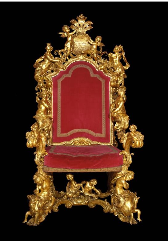 Throne Room Ca Rezzonico